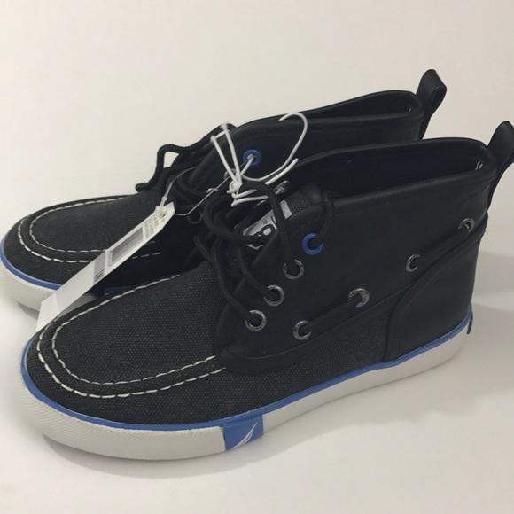 44b51c7e Nautica Shoes | Kids Boy Shoe Canvas Boat Style Size 1 | Poshmark